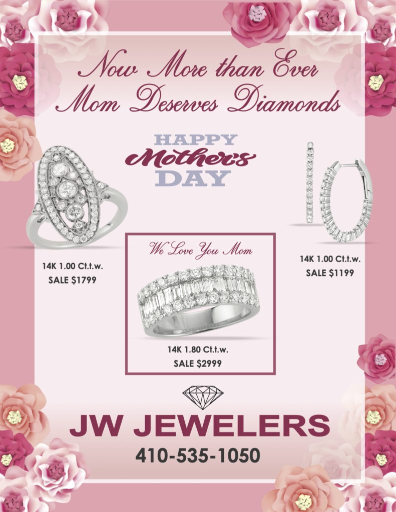 Mother's Day Specials for 14K 1.00Ct.t.w Ring, Earrings, and Bracelet – Starting at $1,199 Here at JW Jewelers, for safe and contactless service Call 410-535-1050